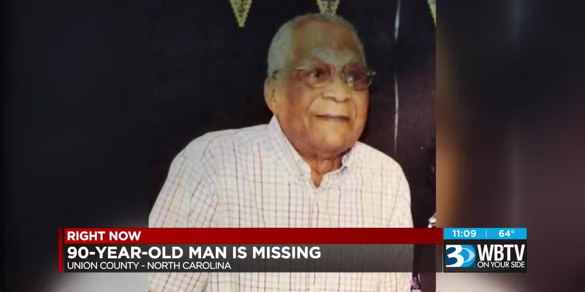 90-year-old man reported missing in Union County