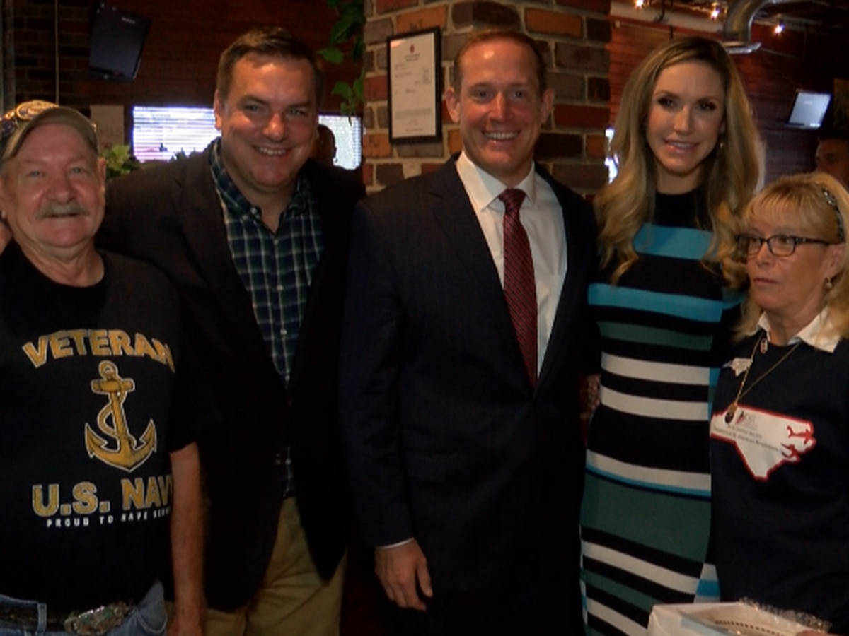 President Trump's daughter-in-law campaigns in Salisbury for congressional representatives