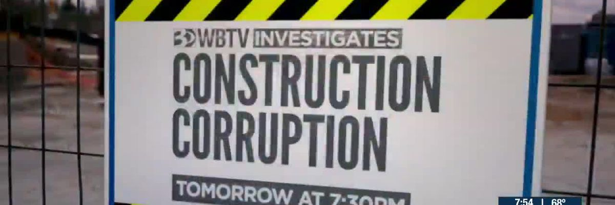Preview of WBTV Investigates special: Construction Corruption