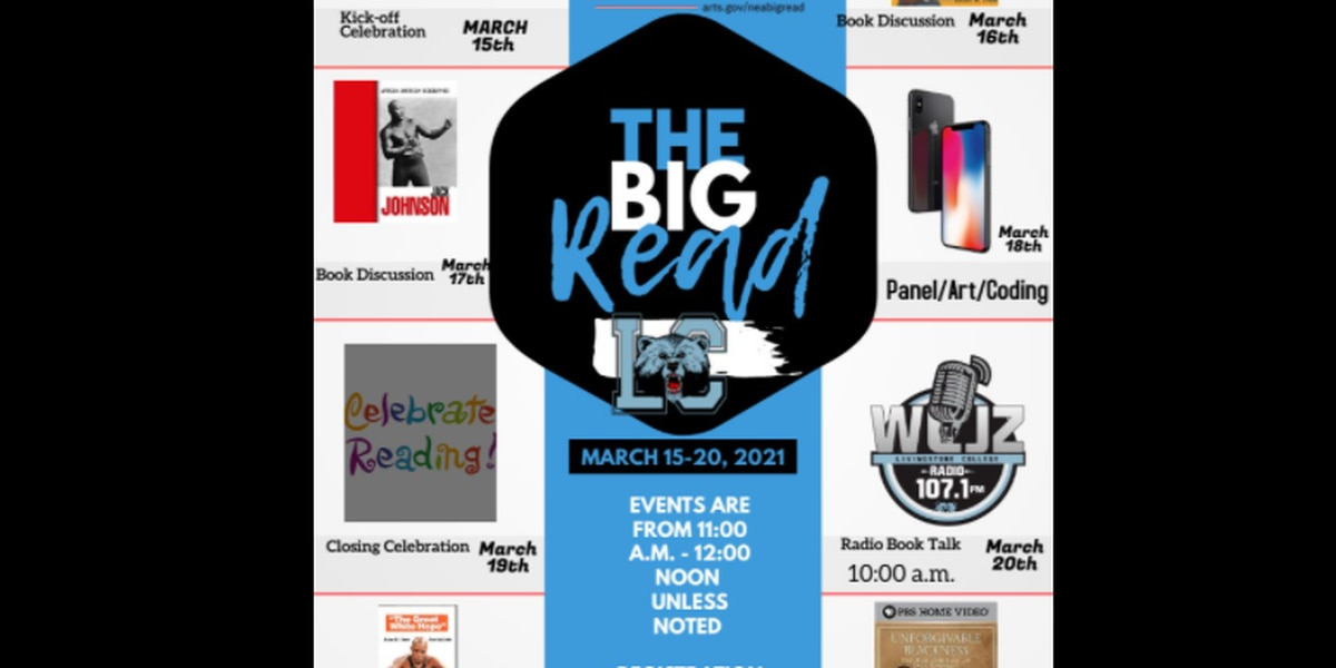 "Livingstone College to launch ""The Big Read"""