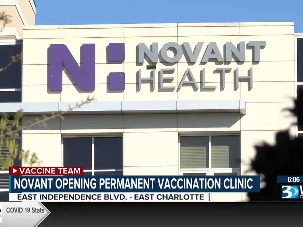 Novant plans for 3K appointments a day at new Charlotte COVID-19 vaccination clinic