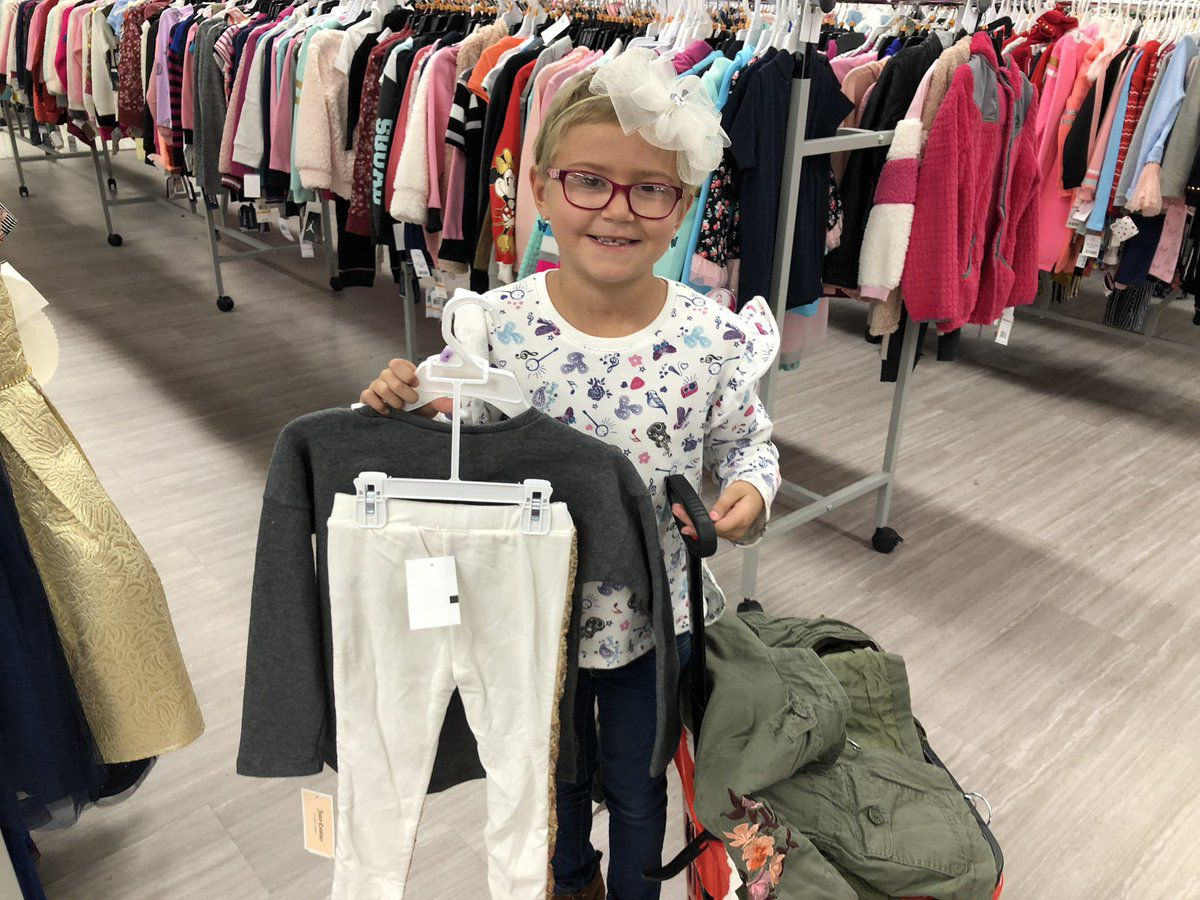 7-Year-Old Leukemia Survivor Goes on Charitable Shopping Spree