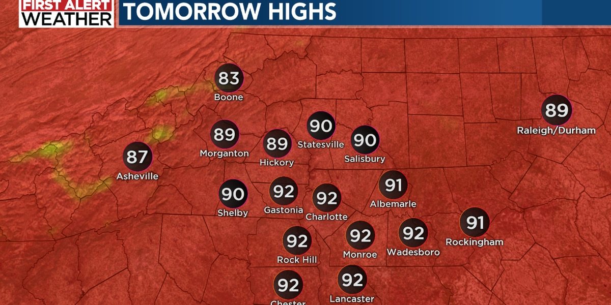 Hot and muggy Sunday with more rain and storms ahead