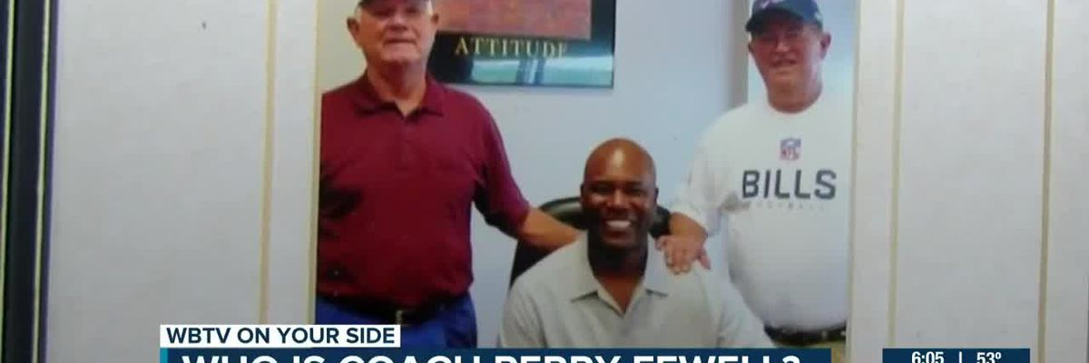 Former South Point HS football coaches call Panthers interim head coach Perry Fewell 'a character guy'