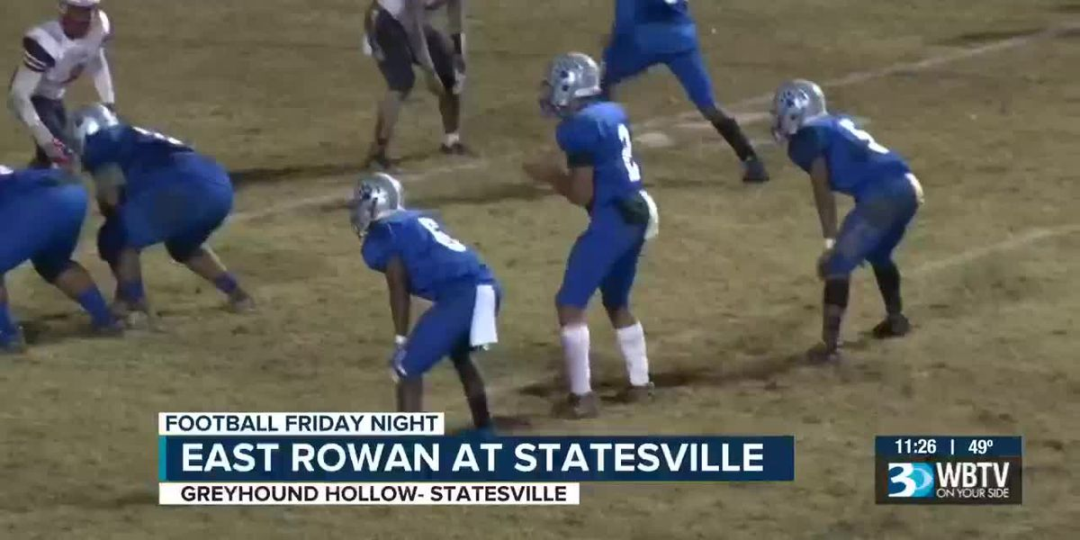 West Rowan at Carson and East Rowan at Statesville