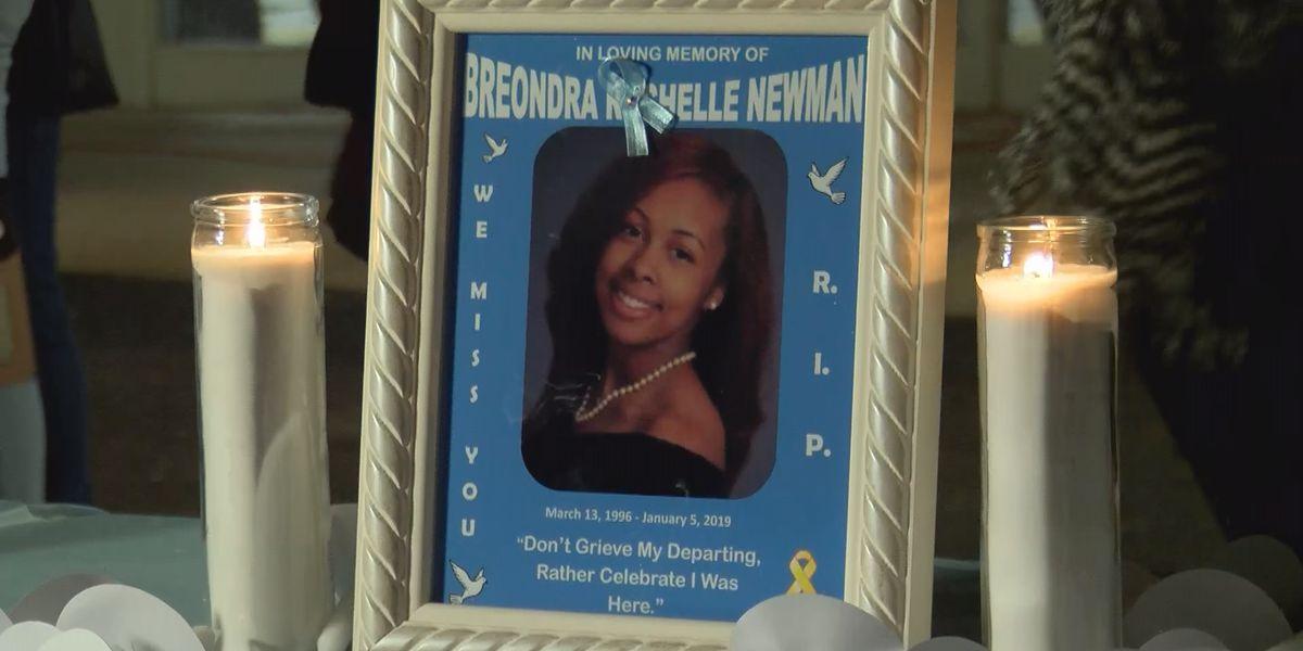Vigil held for Charlotte woman killed in bizarre traffic incident