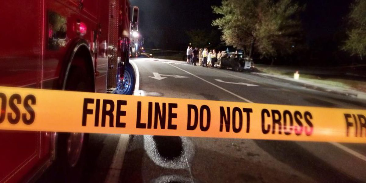 Man killed in early morning wreck, car fire ID'd