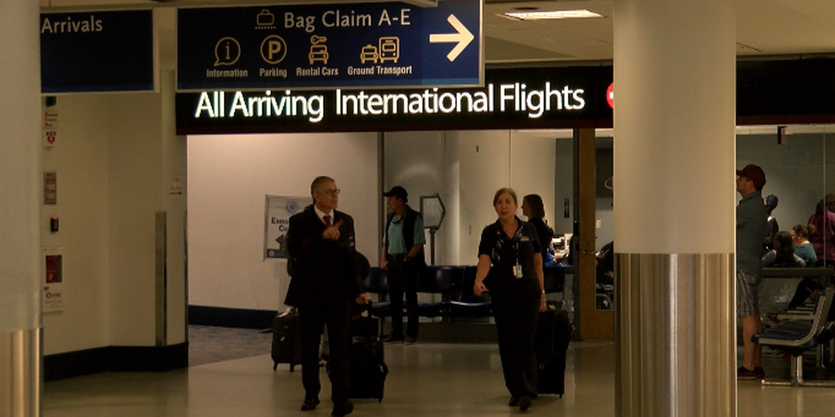 Travelers at Charlotte airport respond to new travel restrictions between Europe and U.S.