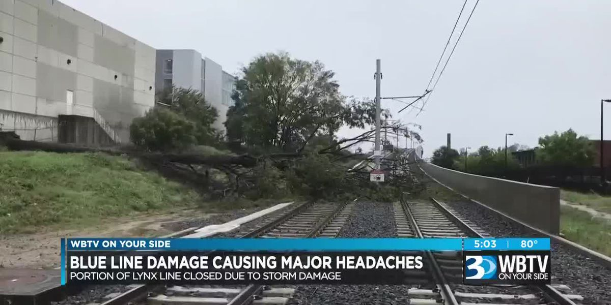 Blue Line damage causing major headaches