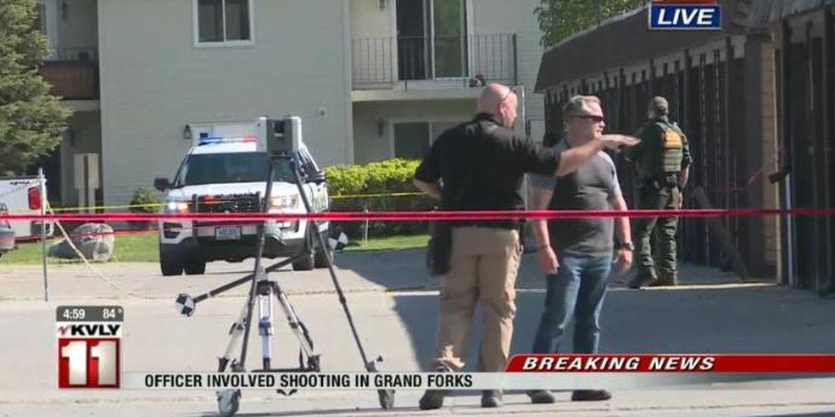 Officer injured in North Dakota shooting dies