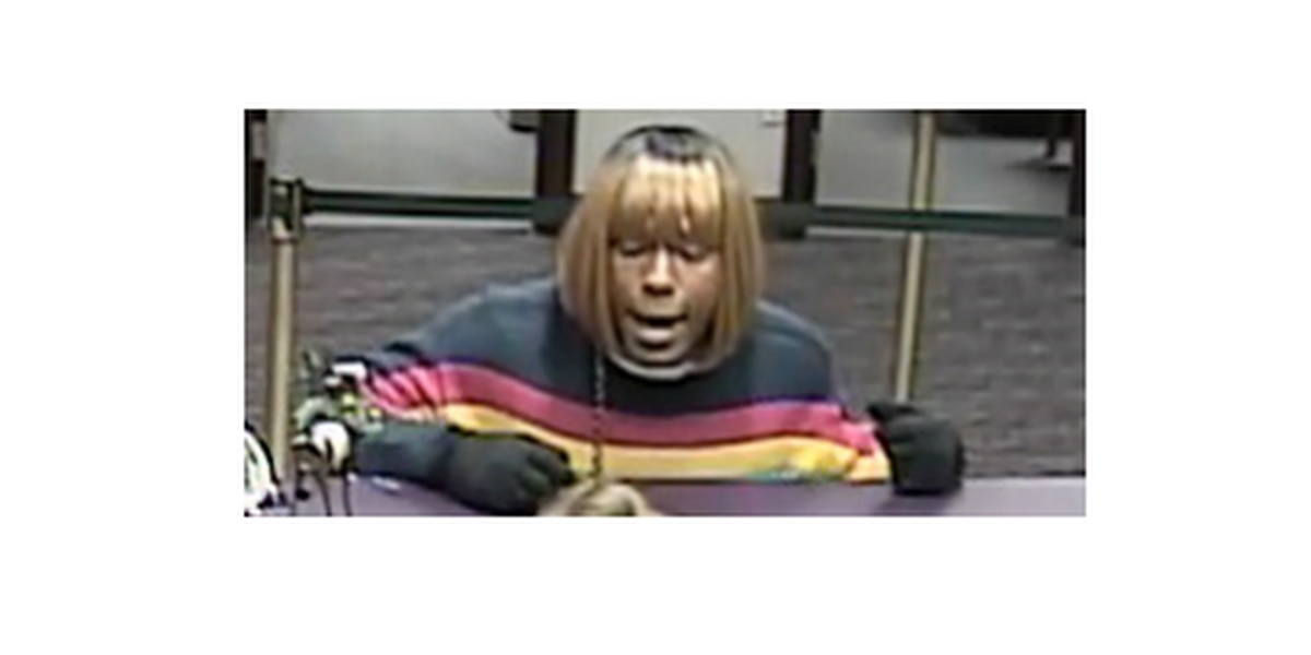 Police: Man wearing blonde wig, high heels, on the run after robbing bank in Huntersville