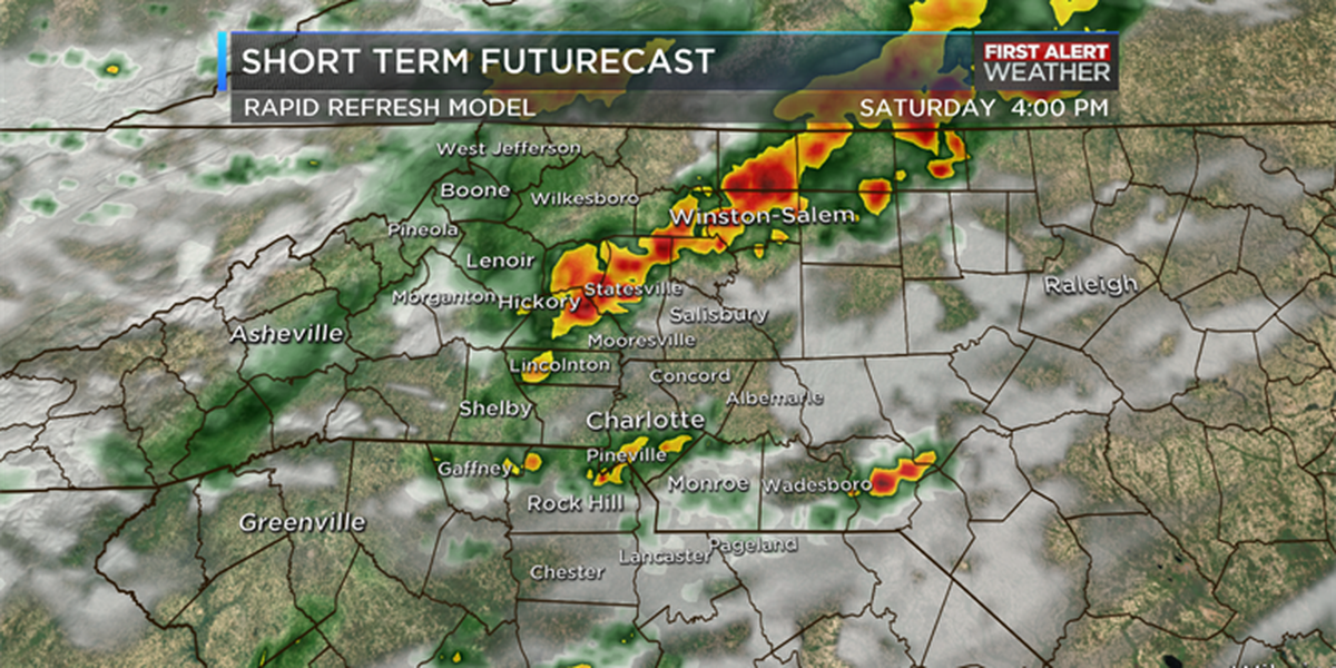 Strong storms, heavy winds possible Saturday afternoon