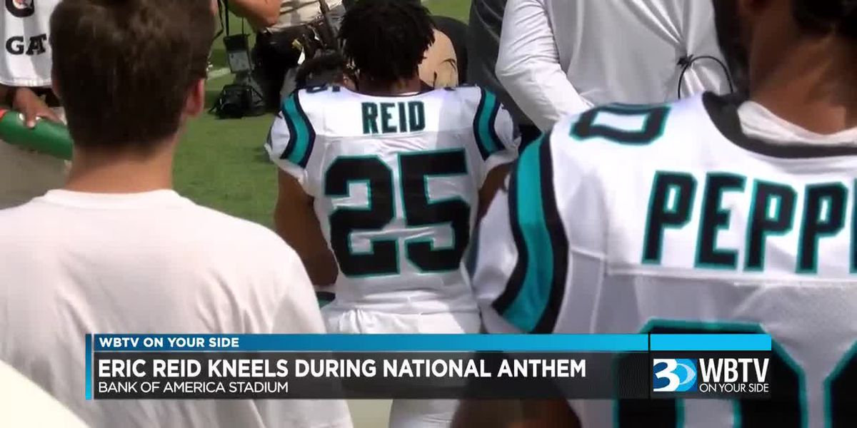 Eric Reid makes statement In first game with Carolina