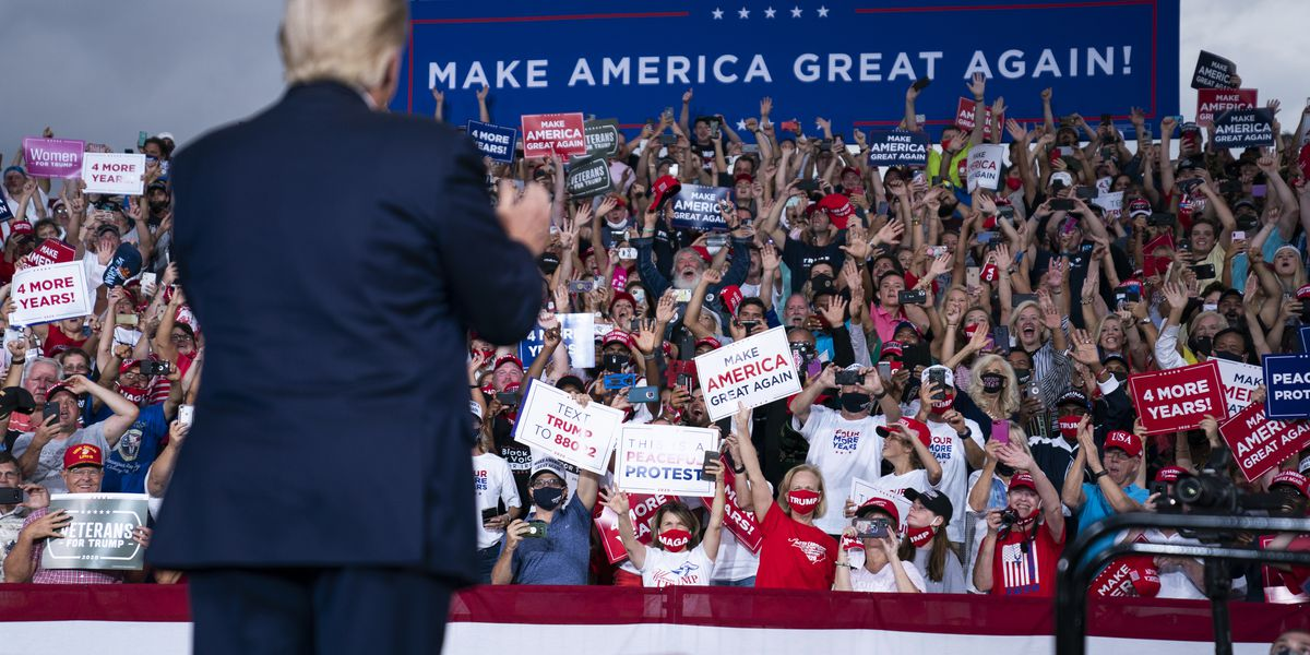 NC: Trump rally exceeded pandemic limits, but not illegal