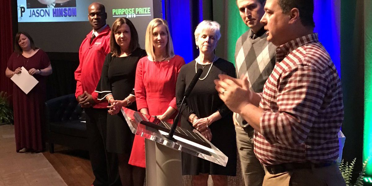 Purpose Prize ceremony honors those helping community
