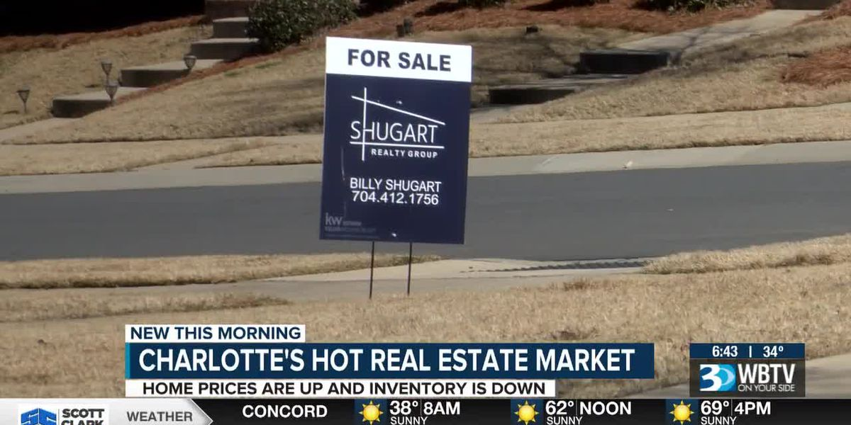 Charlotte's hot real estate market: Home prices are up and inventory is down