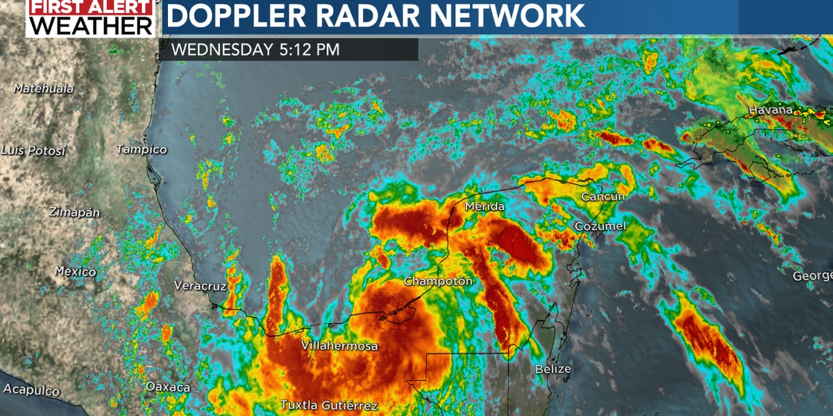 Tropical Storm Cristobal continues to have its eye on the Louisiana coast