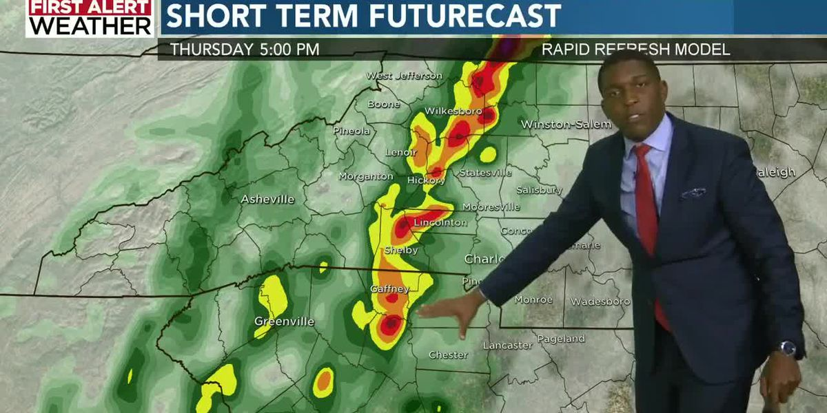 Potential for strong to severe Halloween thunderstorms triggers another First Alert Day