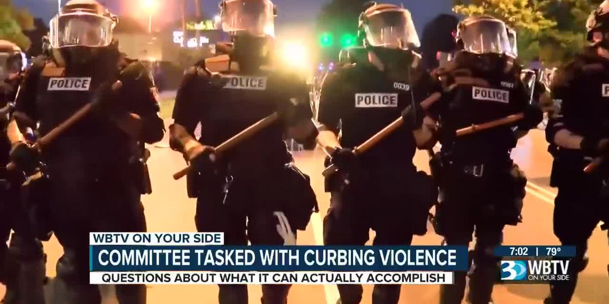 Committee tasked with curbing violence in Charlotte