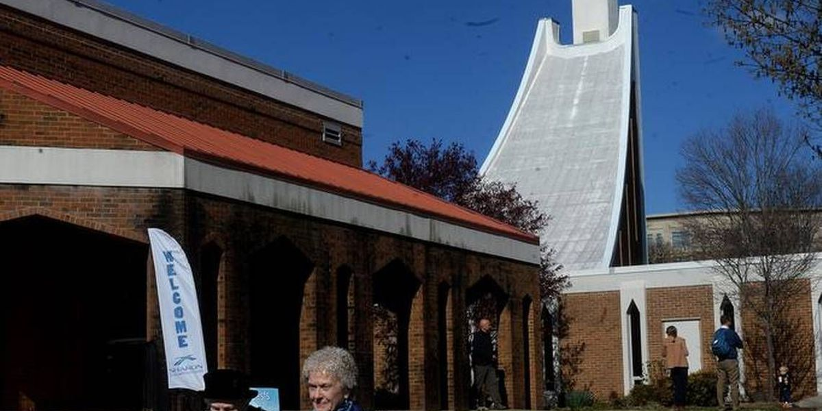 The 'ski slope church' will be demolished soon. Here's how you can get a piece of it.