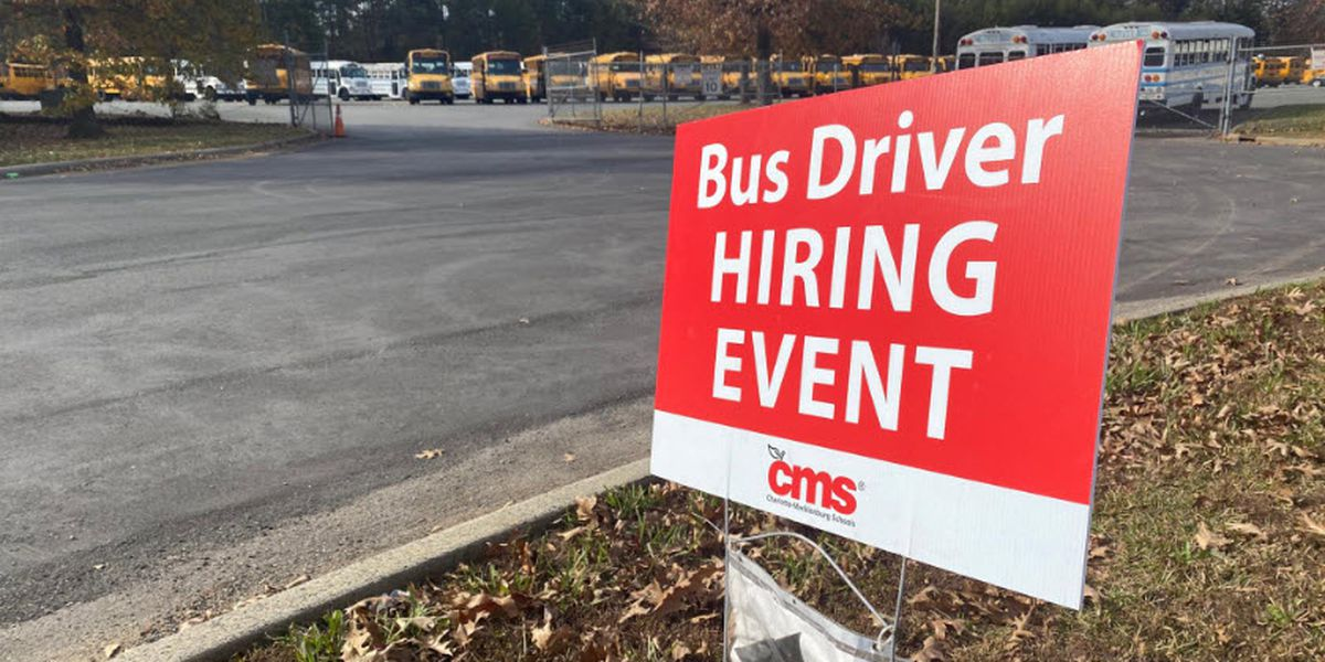 CMS looks to hire more bus drivers, fill open positions ahead of students return