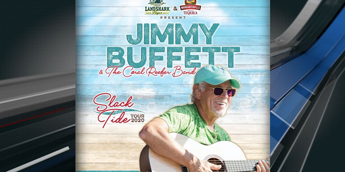 Jimmy Buffett is returning to Charlotte in April. Hopefully, the weather will be nice.