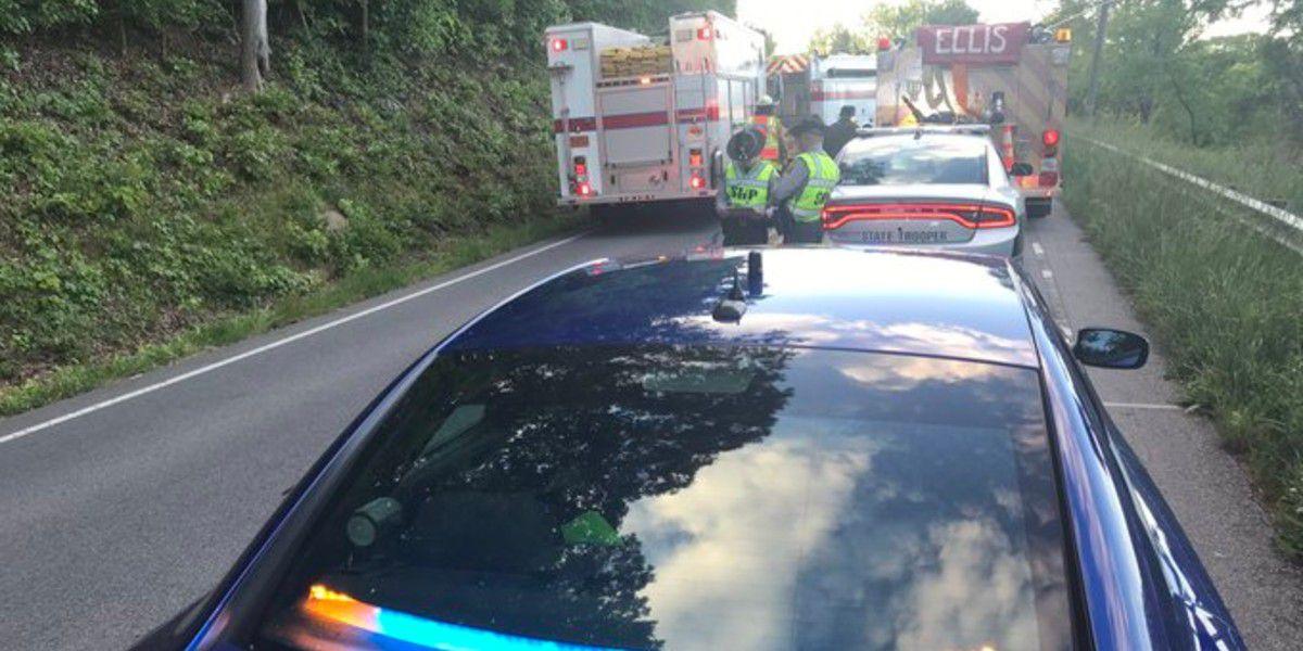 Person killed in crash involving small van, tractor trailer in Rowan County