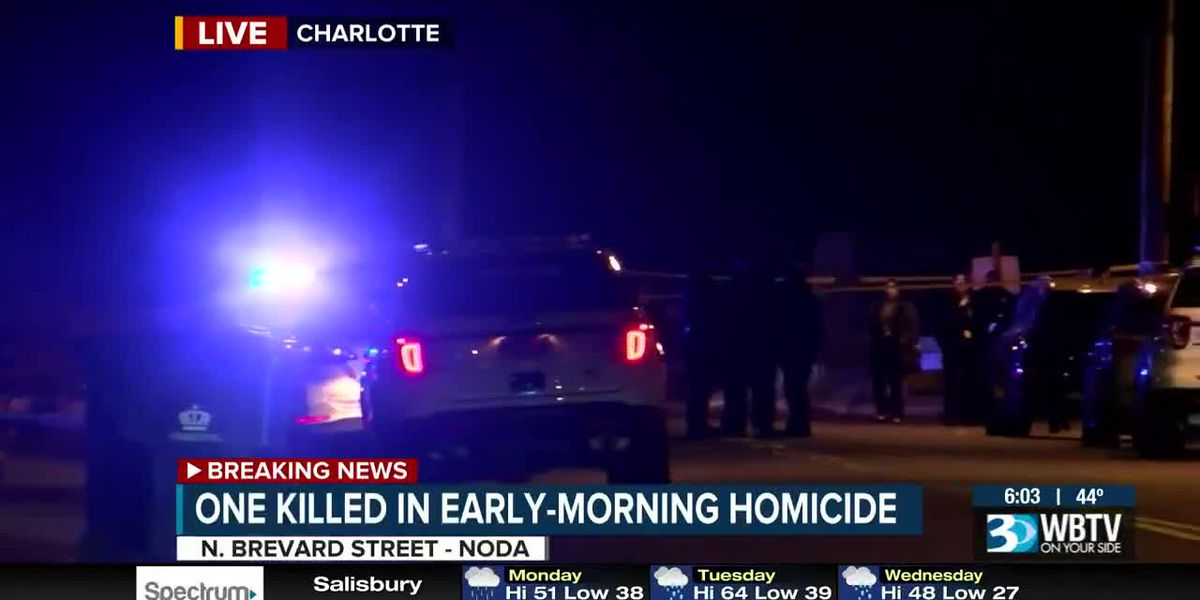 One killed in early-morning homicide