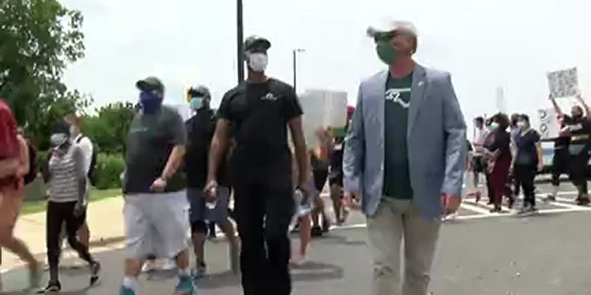 March to end injustice at UNC Charlotte