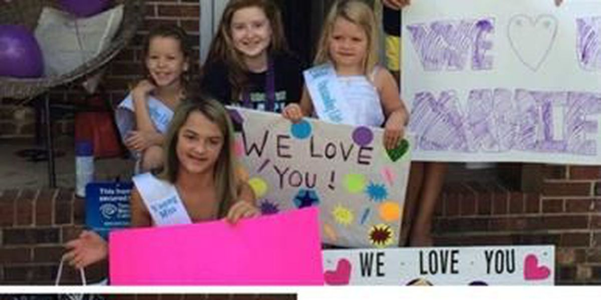 Molly's Kids: Teen fighting rare disease surprised over the weekend