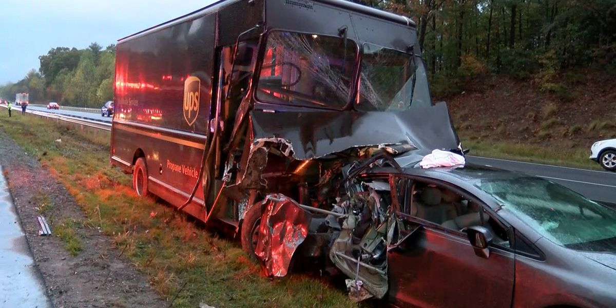 UPS driver charged in fatal crash on Burke County interstate
