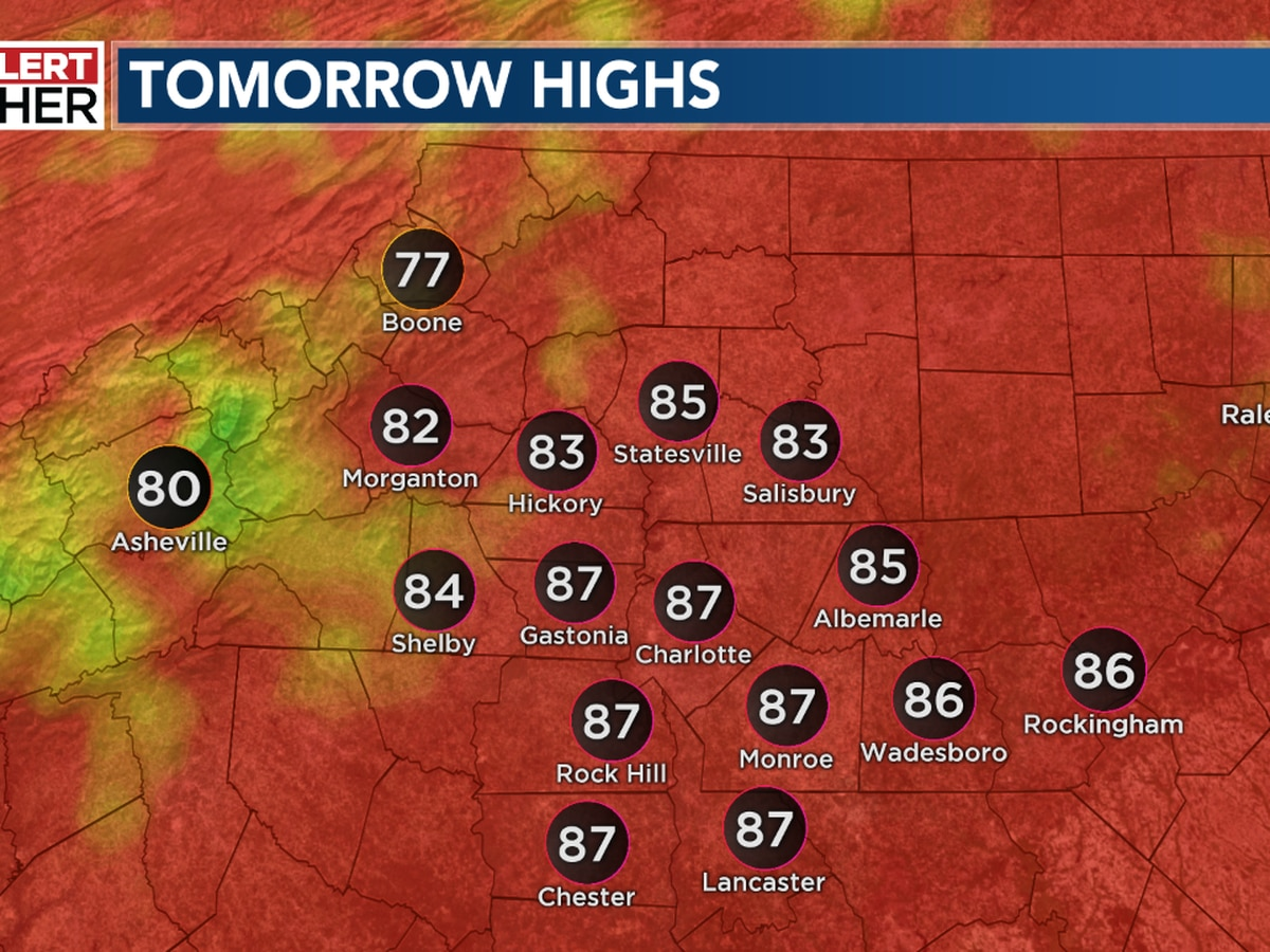 Staying warm and muggy with scattered late day storms