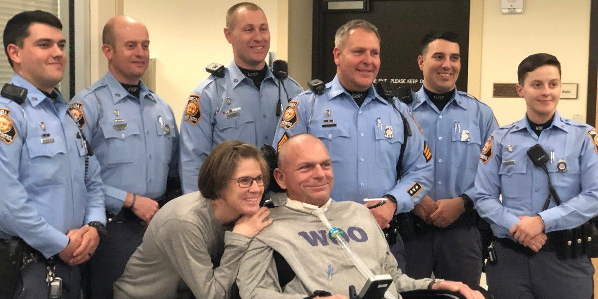 NC trooper paralyzed after crash during chase released from hospital