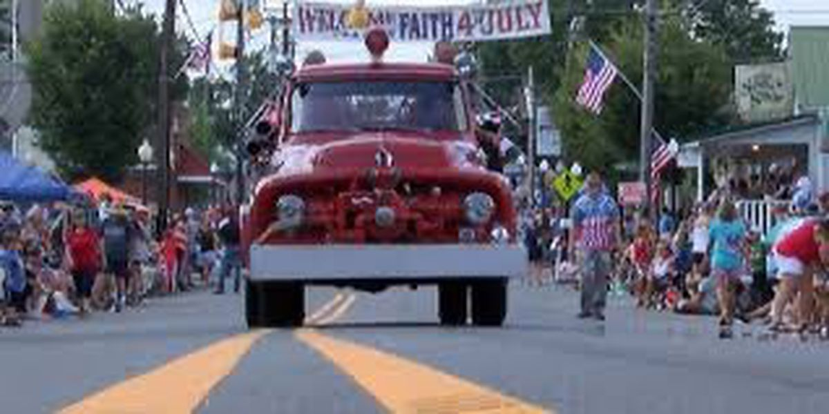 Town of Faith cancels Fourth of July celebration