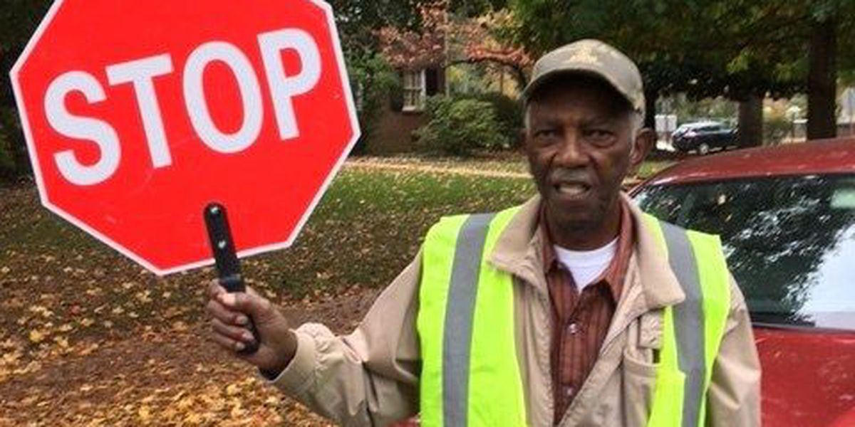 Charlotte crossing guard is nominated for America's Favorite Crossing Guard