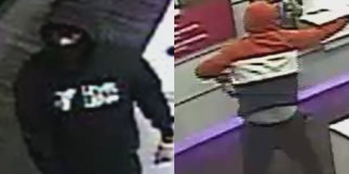 Crime Stoppers: Police trying to identify man suspected of robbing multiple T-Mobile stores