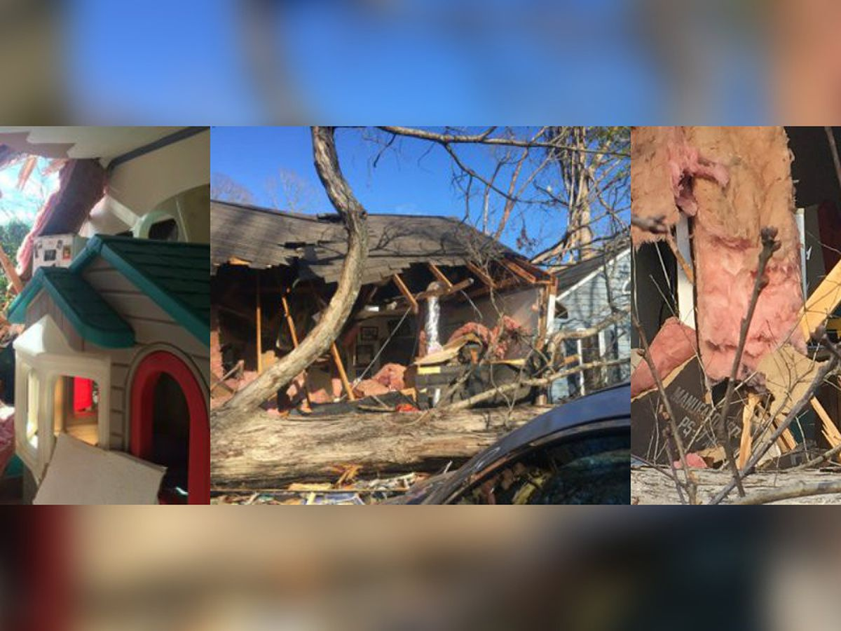 Cleanup continues after tornado rips through Matthews daycare