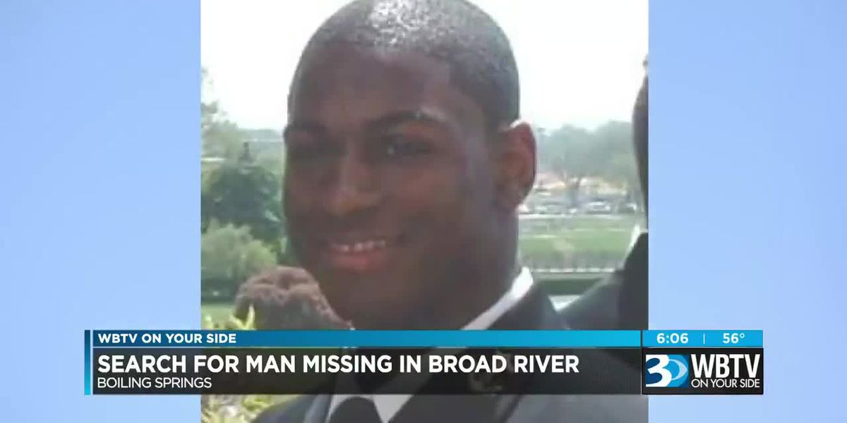 Search for man missing in Broad River