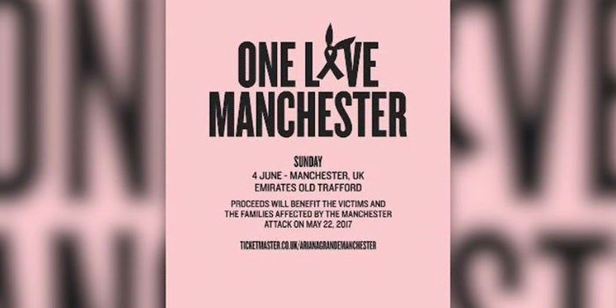WATCH LIVE: Manchester benefit concert will continue as planned
