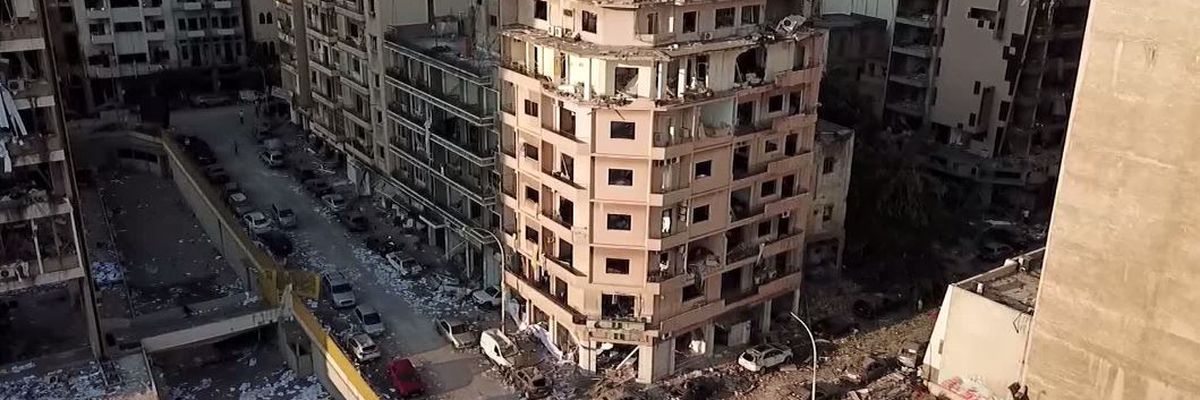 'Heroine' nurse protected 3 newborns at hospital hit by Beirut explosion