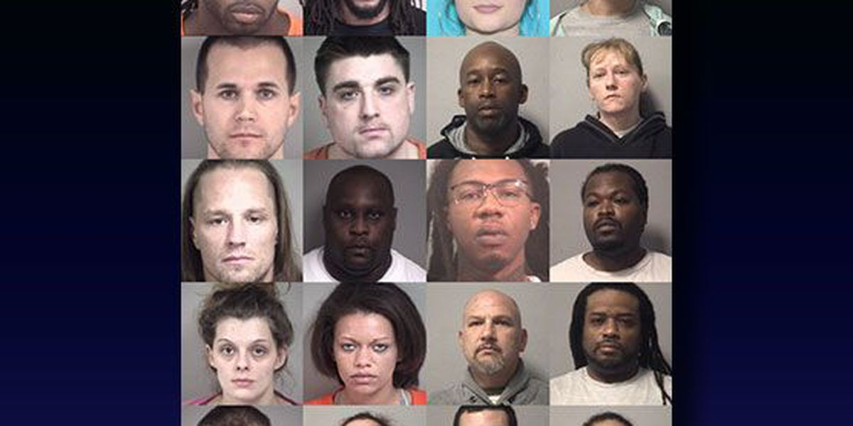 20 people targeted in Kannapolis drug bust
