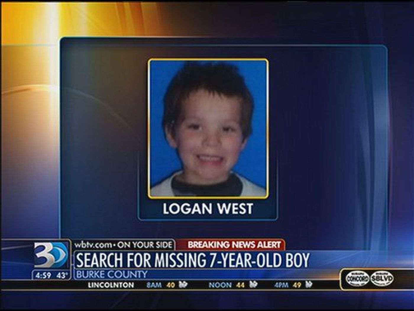 Missing Burke Co  child found under pile of clothes