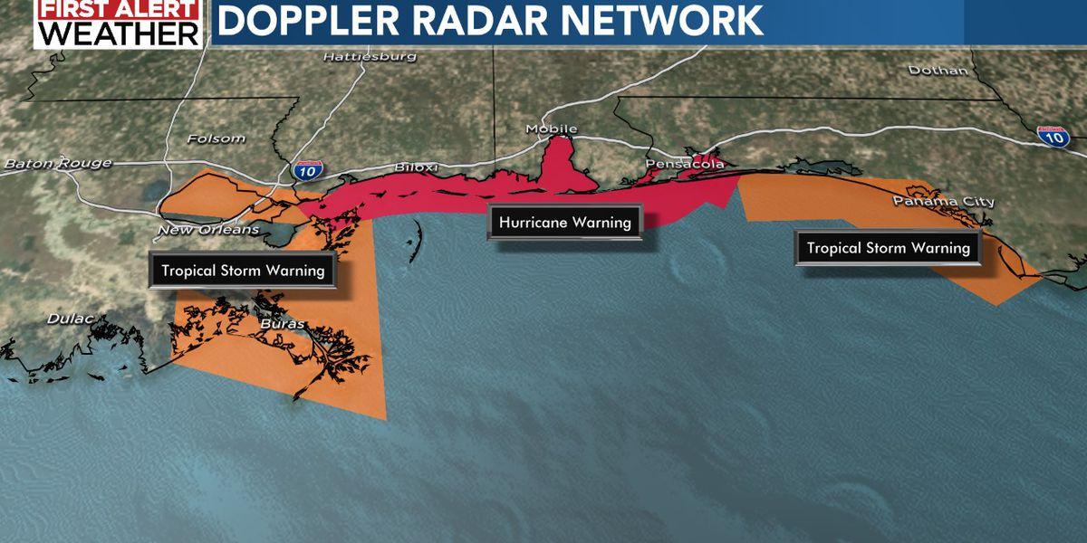Hurricane Sally: Life-threatening storm surge, hurricane-force winds, flash flooding along portions of Northern Gulf Coast