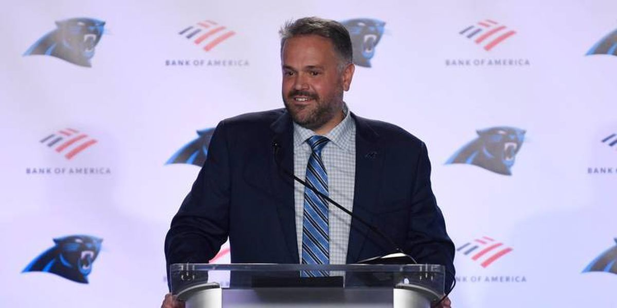 What Matt Rhule had to say about Cam Newton and building his Panthers coaching staff