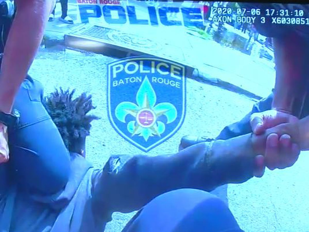 BRPD Chief: Officer's knee was on teen's back, not his neck