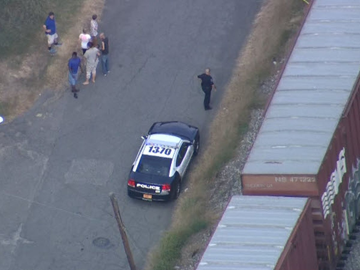 Woman struck by train, killed in Gaston County