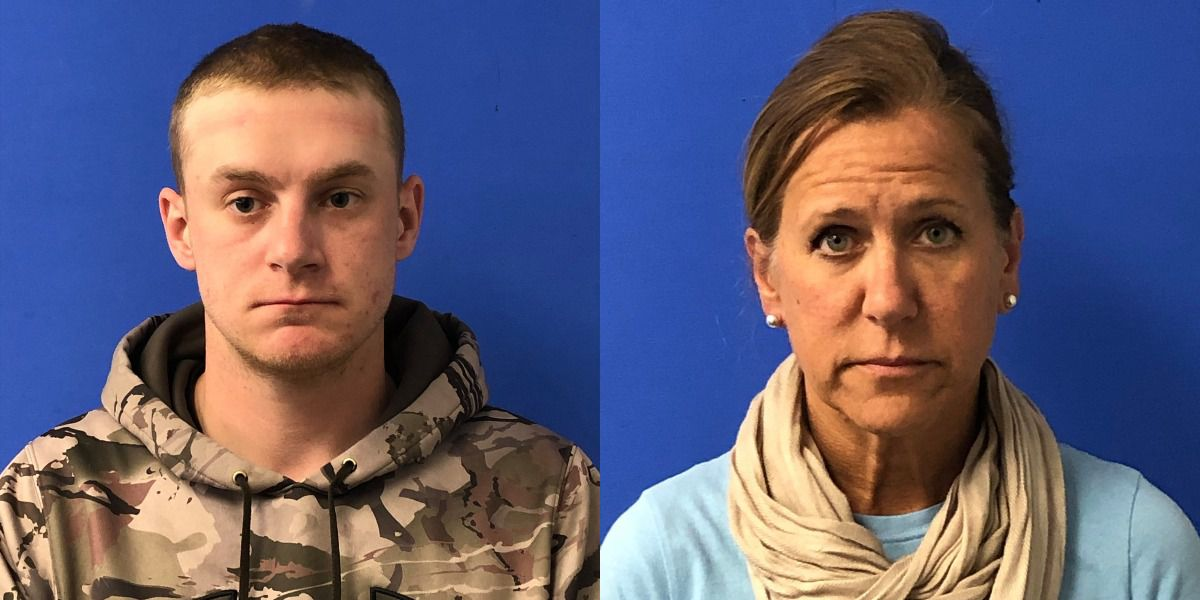 Mother and son arrested after shots fired at FedEx driver who accidentally ran over dog