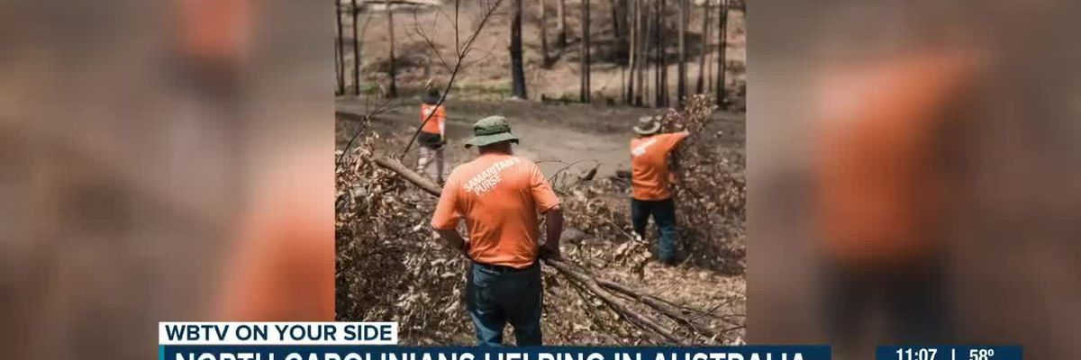 Samaritan's Purse lending a helping hand to those impacted by wildfires in Australia