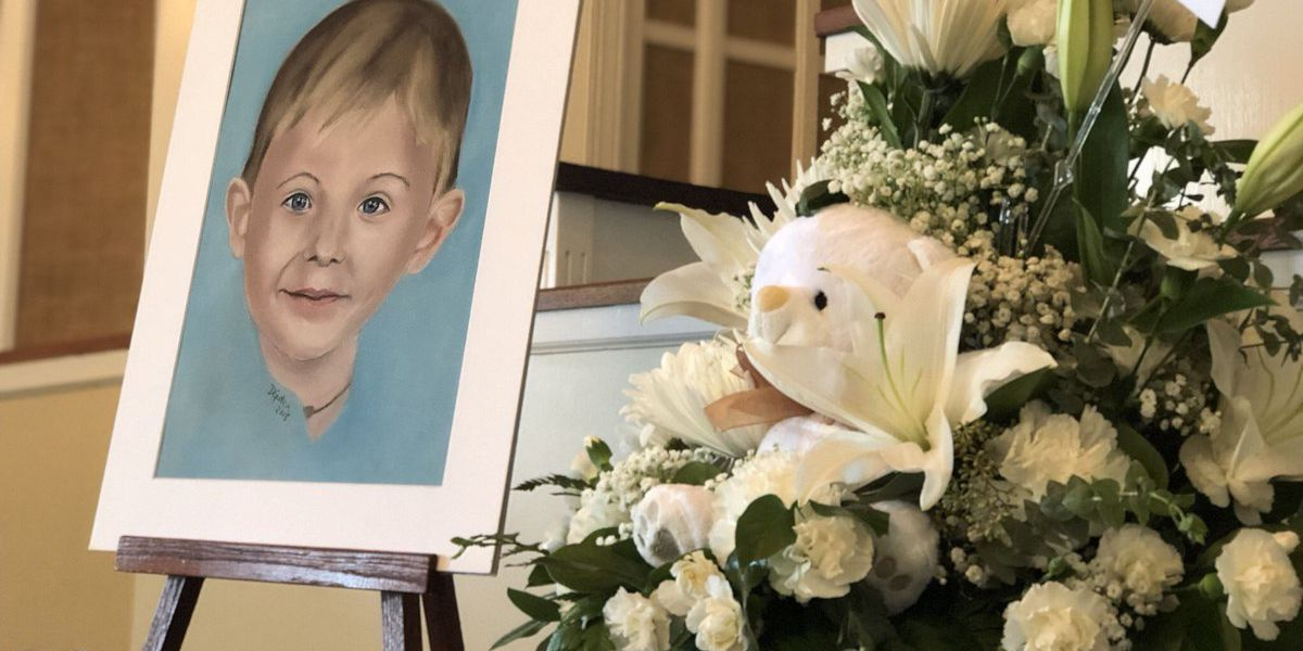 Loved ones say goodbye to 6-year-old Maddox Ritch