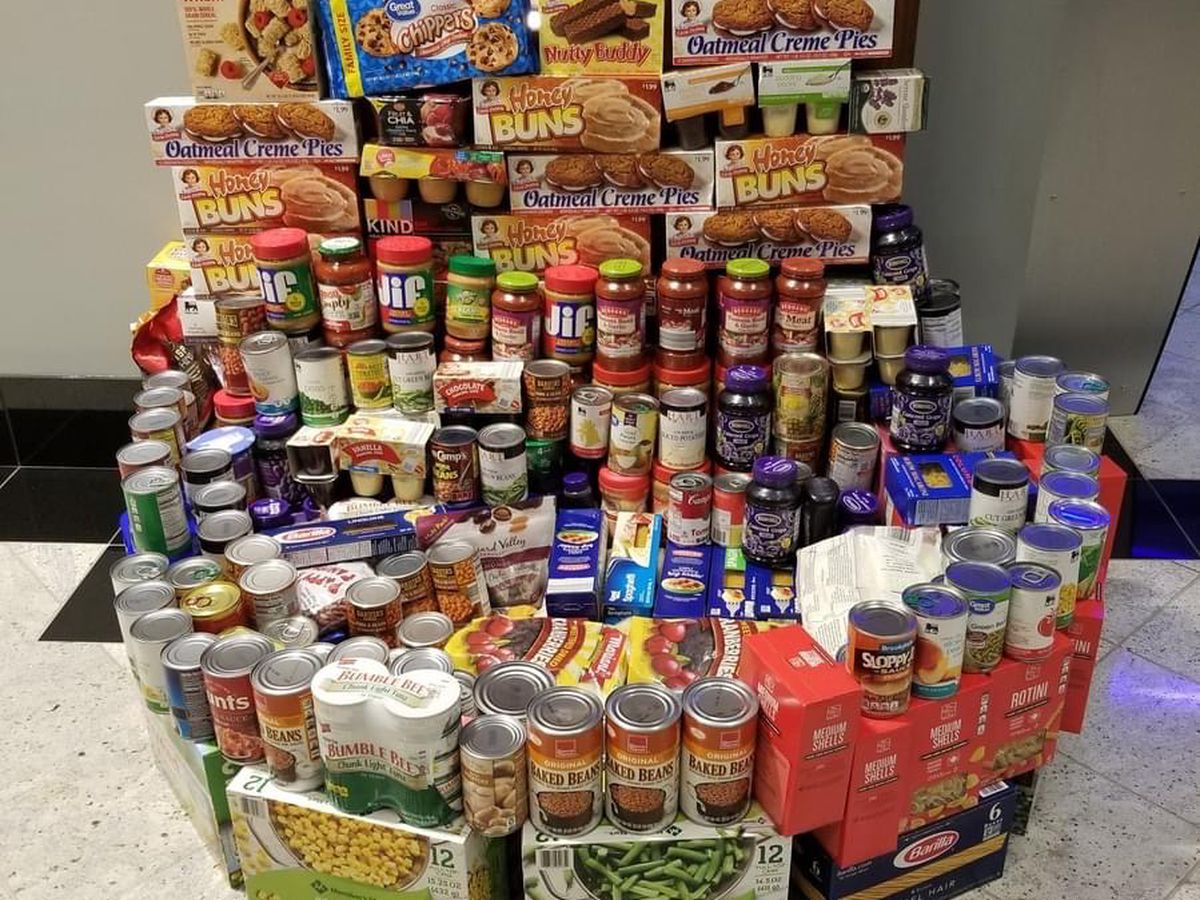 Food drive for veterans now underway